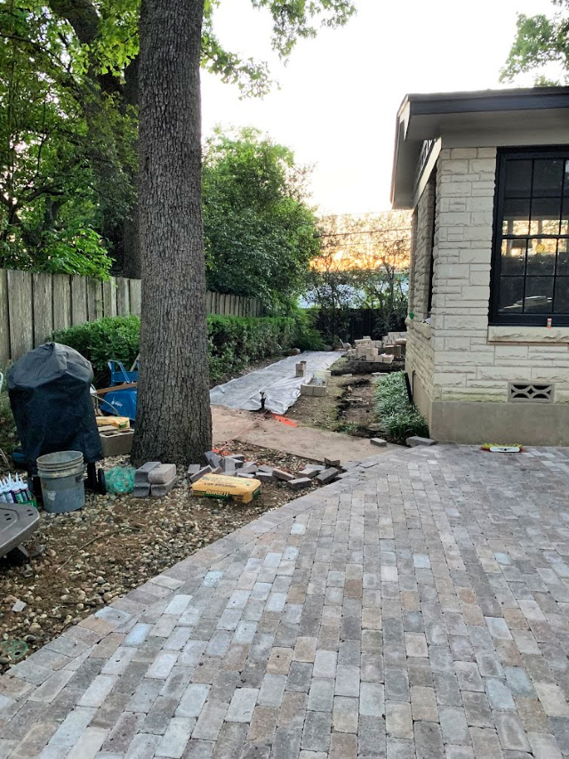 backyard patio plan