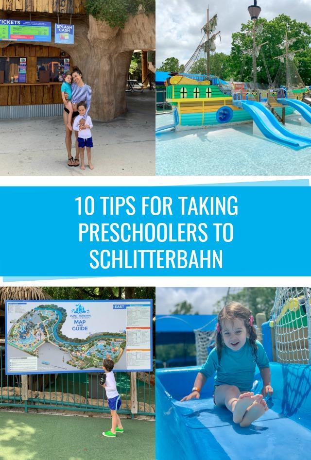10 Tips for taking preschoolers to Schlitterbahn