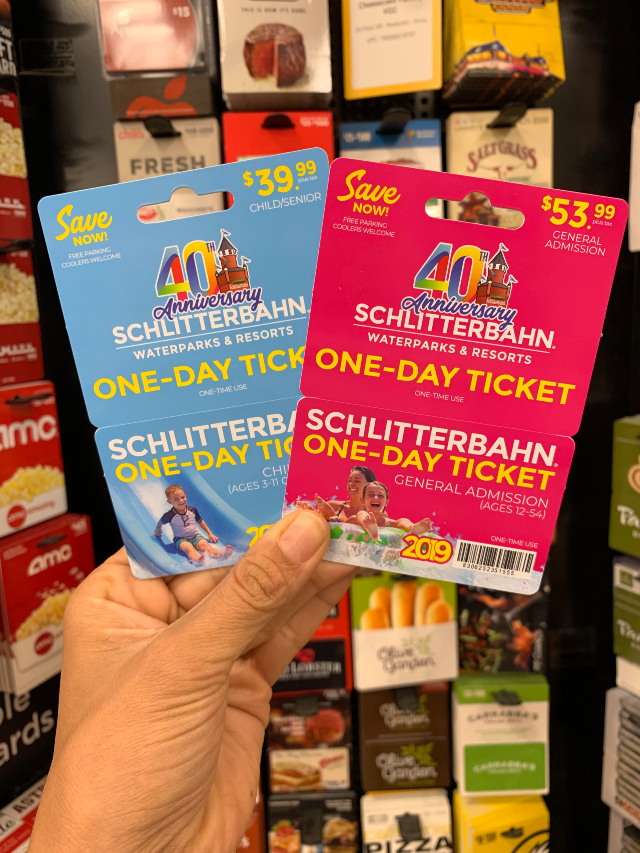 best deal on Schlitterbahn tickets