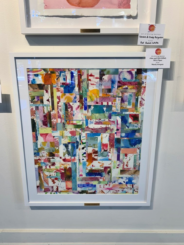 Collaborative art project by Mandy Gregory