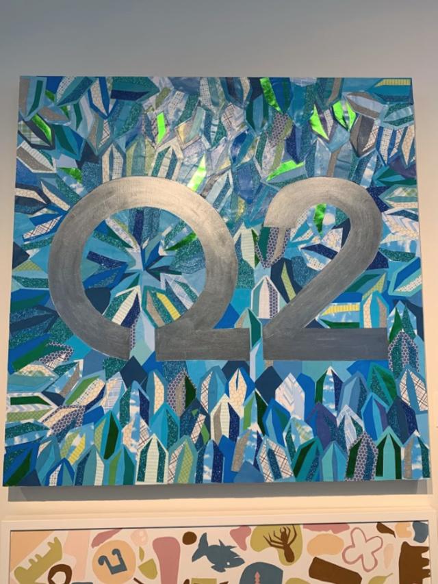 Collaborative art project with Rebecca Harrell