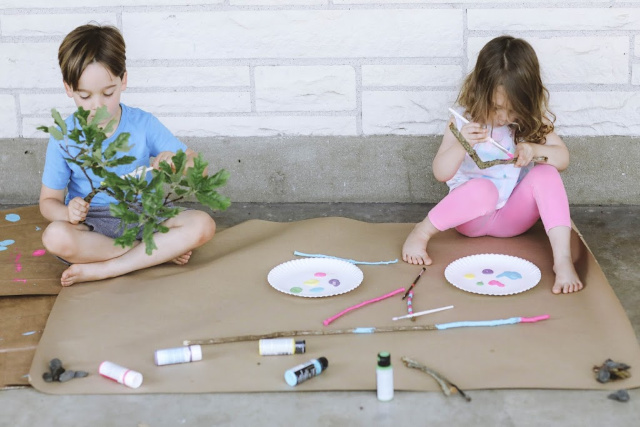 Nature kid crafts