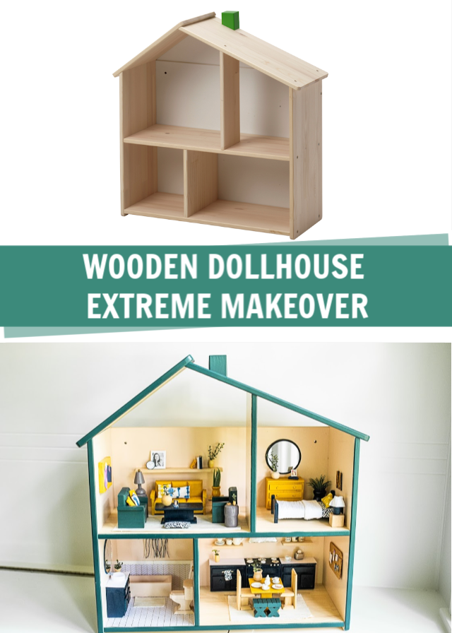 Diy Dollhouse Makeover Craft