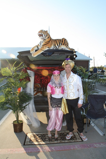 Aladdin trunk or treat