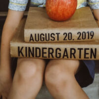 Cricut First Day of School Signs