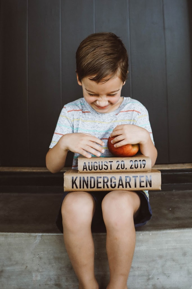 DIY First day of school signs