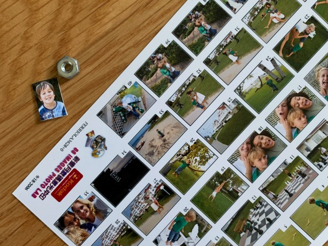 DIY Tiny picture frame