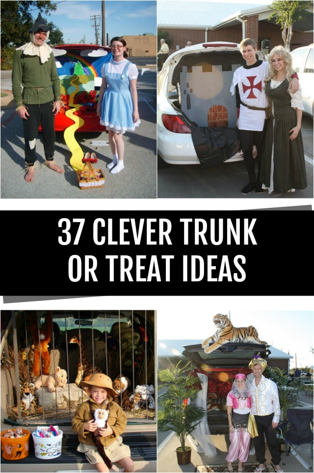 37 Clever trunk or treat ideas
