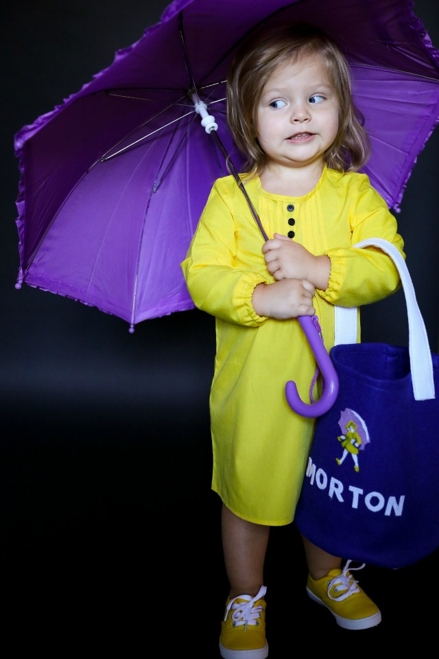 DIY Morton salt costume
