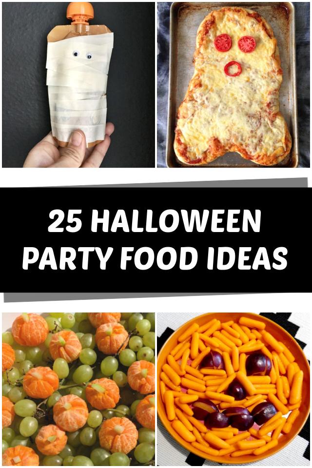 25 Halloween party food ideas