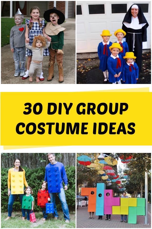 DIY Group Halloween Costumes