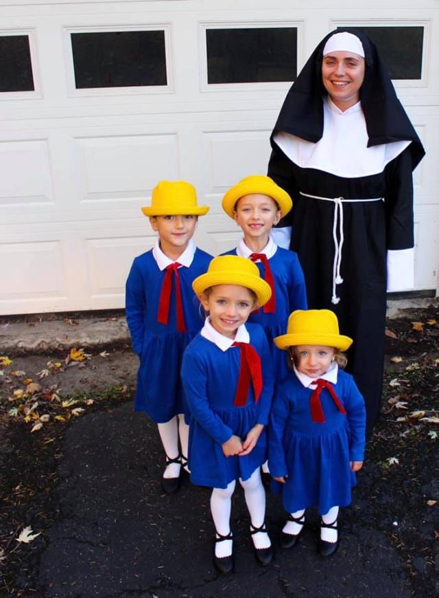 DIY Madeline costumes