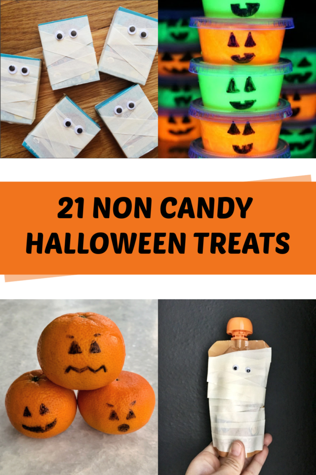 Non candy Halloween treat ideas