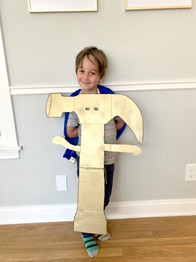 DIY hammer costume