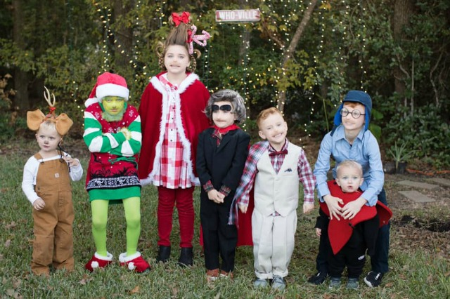 Kids Grinch costume