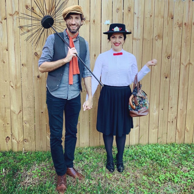Mary Poppins costume DIY