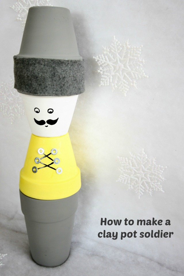 DIY Chrsitmas toy soldier