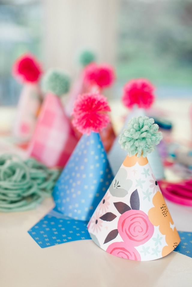 How to make birthday party harts