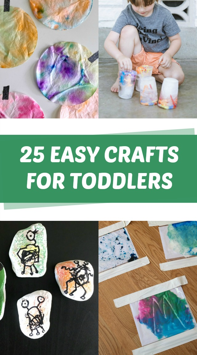 25 Easy crafts for toddlers