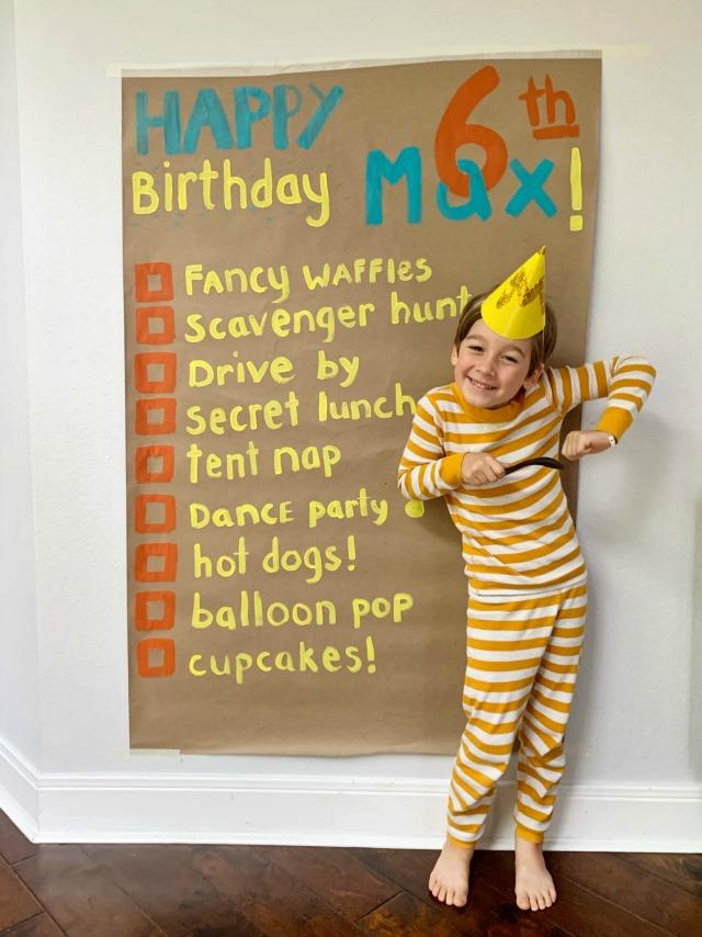 Social Distancing Birthday Ideas