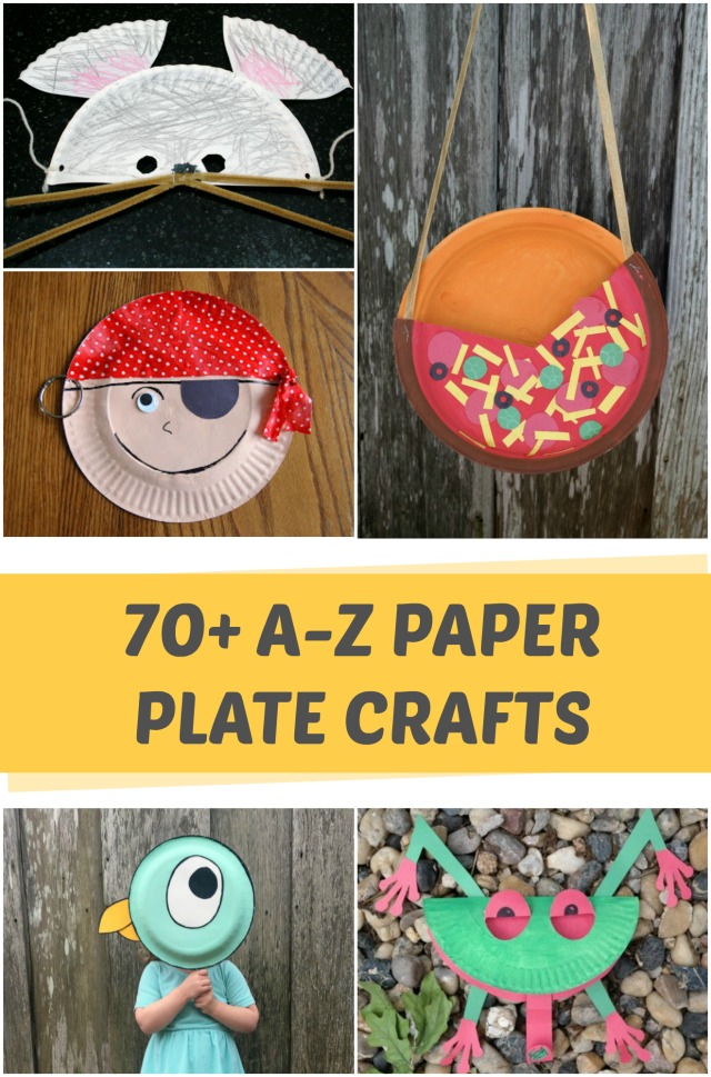 70+ Paper plate crafts for kids