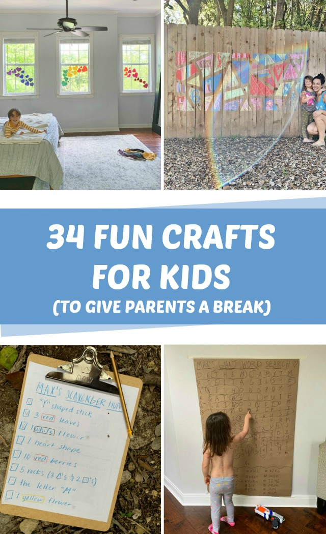 Fun, easy crafts for kids