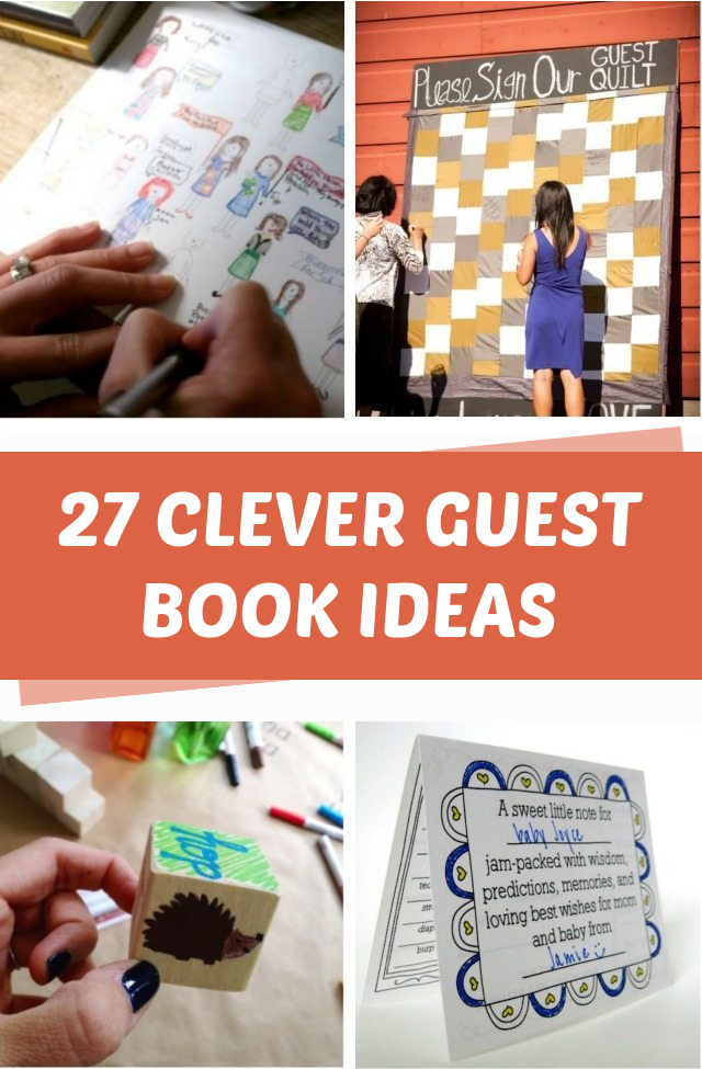 27 Clever guest book ideas for every occasion
