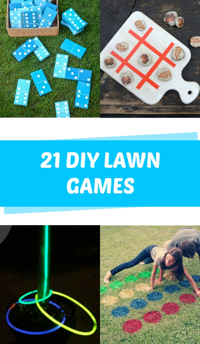 DIY lawn games for the whole family