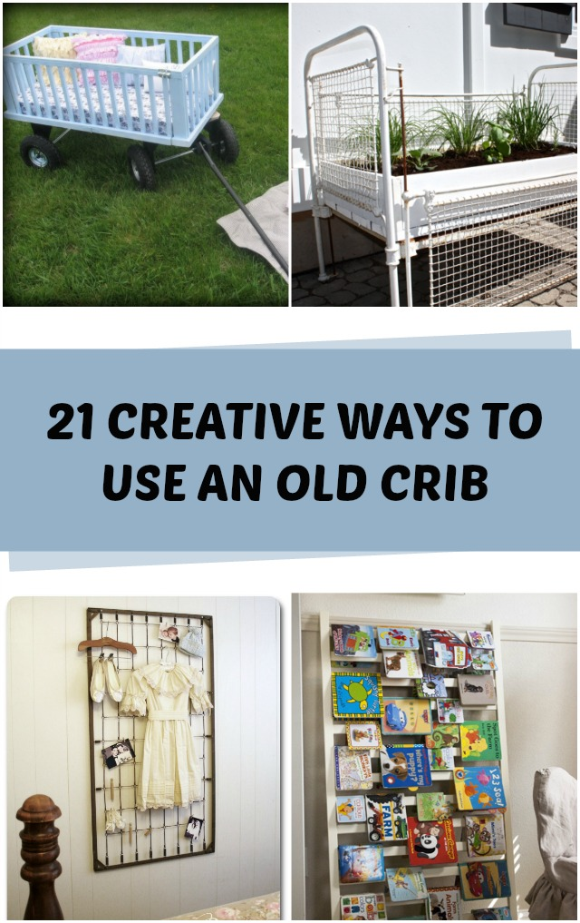21 Creative ways to use an old crib