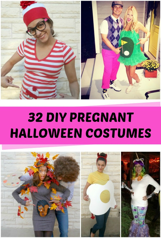 32 DIY Pregnant Halloween costume ideas