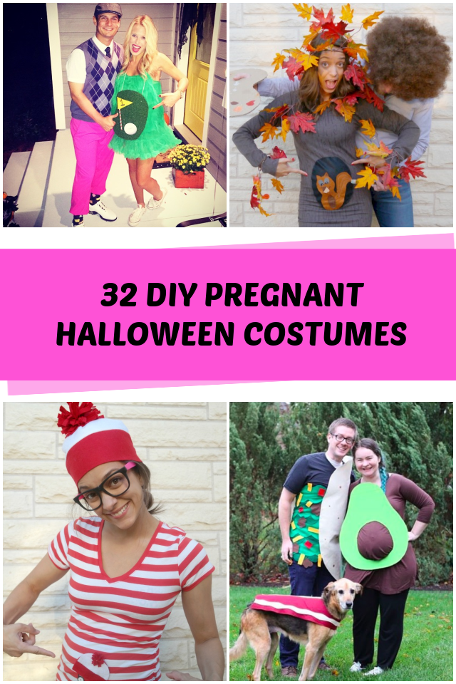 DIY Pregnant costumes