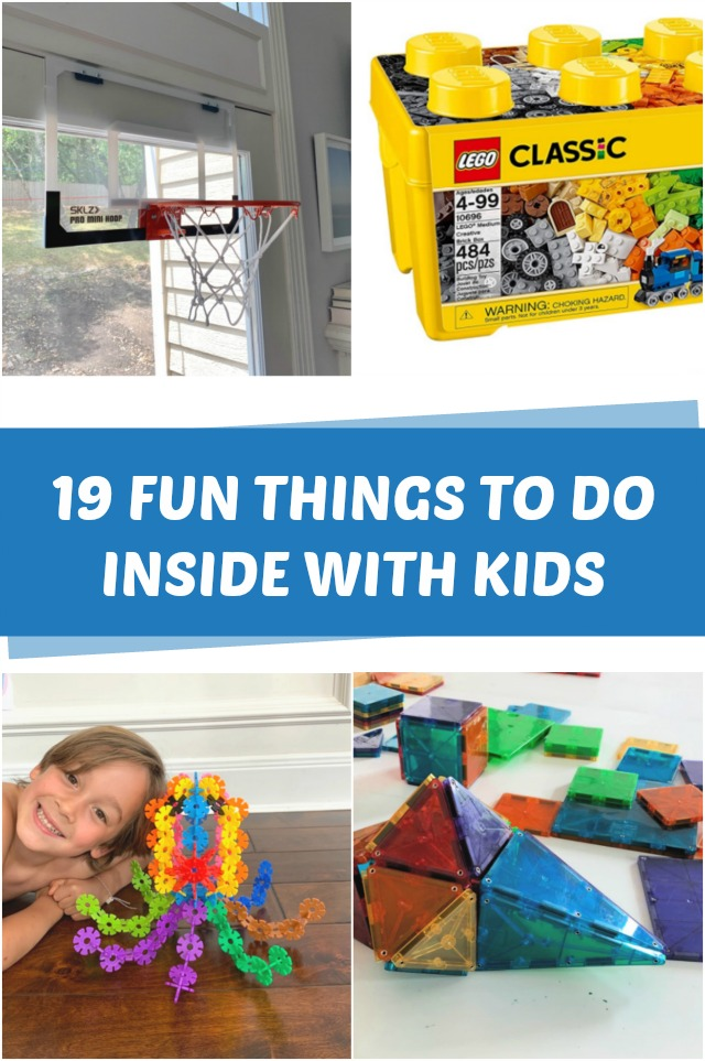 Fun things to do inside with kids