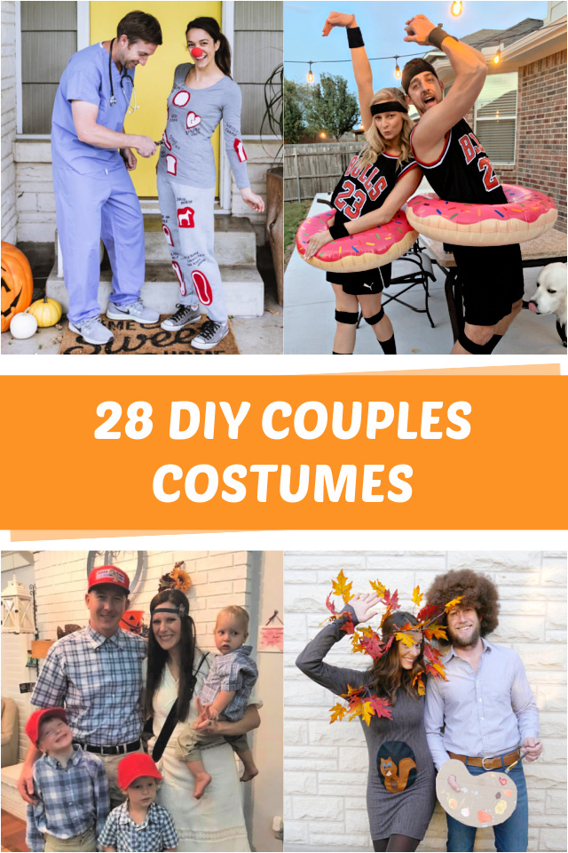 28 DIY Couples costumes