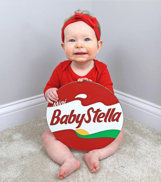 DIY baby Baybel costume