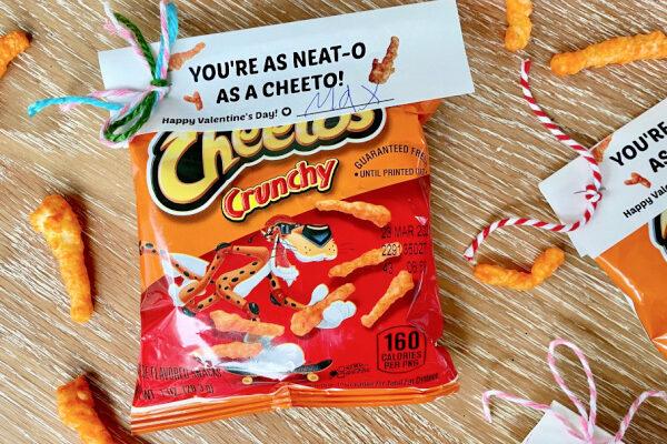 Cheeto Valentines for kids