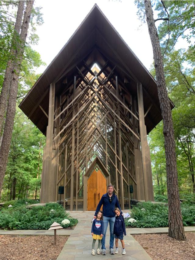 Anthony Chapel in Hot Springs Arkansas