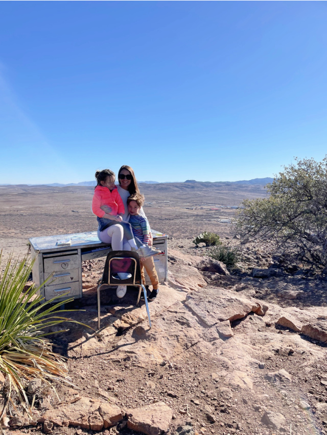 Hancock Hill hike to the desk in Alpine Texas