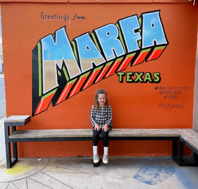 Marfa Texas mural