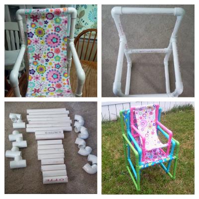 DIY PVC Pipe chairs