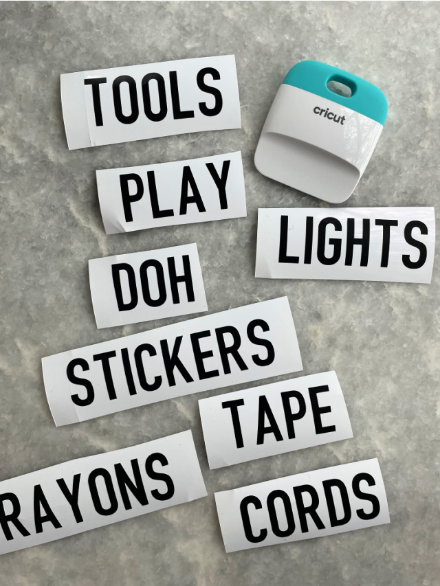 How to make vinyl labels