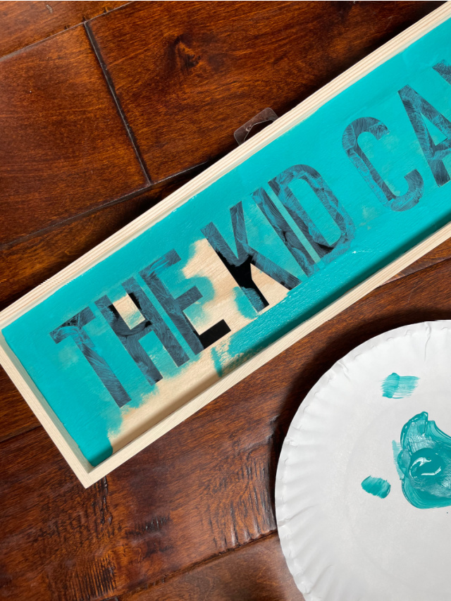 Kid cave sign