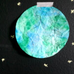coffee filter earth crafts