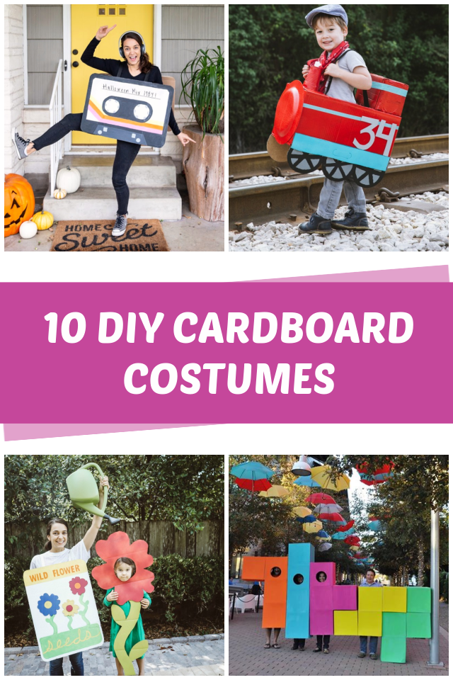 10 DIY Cardboard Costumes