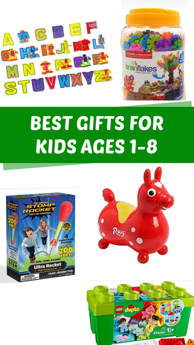 Best gifts for kids ages 1-8