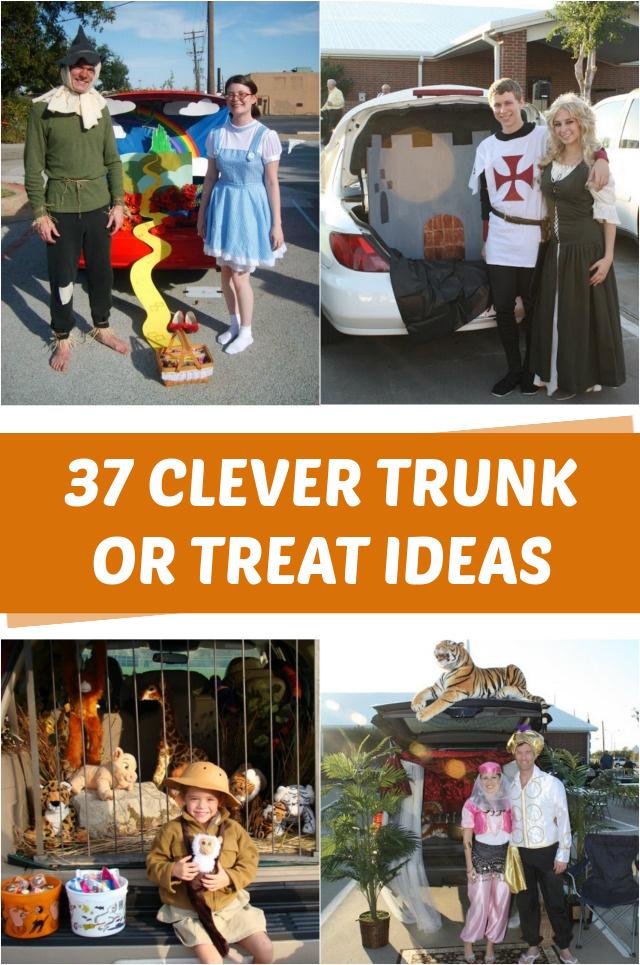 Genius trunk-or-treat-ideas